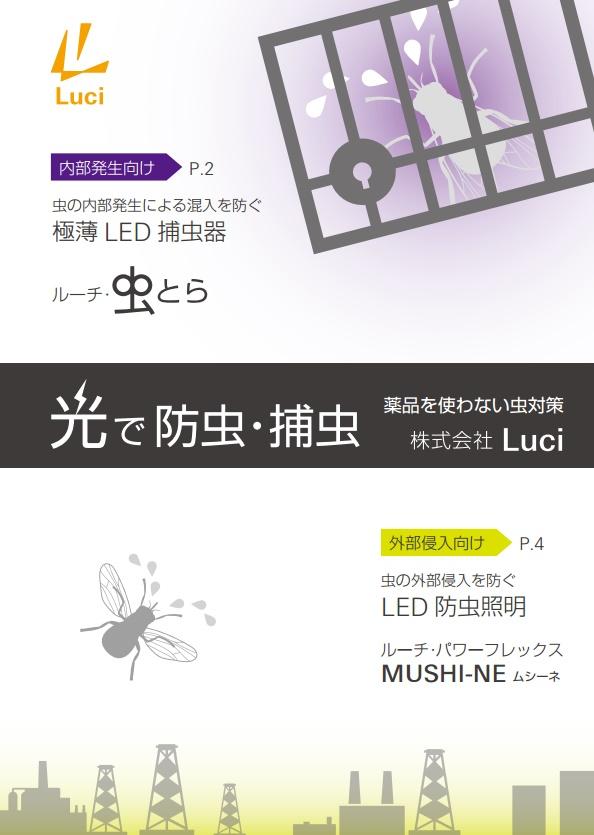 ルーチ虫とら/MUSHI-NE 商品パンフレット